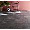 Carrelage sol intérieur anthracite effet teinté 45 x 45 cm Angie (vendu au carton)