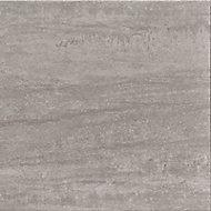 Carrelage sol extérieur gris 45 x 45 cm COLOURS Oikos