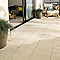Carrelage terrasse beige 30 x 60 cm COLOURS Oikos (vendu au carton)