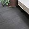 Carrelage sol extérieur noir 30 x 60 cm Sokio (vendu au carton)