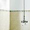 Listel mosaïque beige 5 x 20 cm Murano