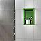 Carrelage mur gris foncé 25 x 40 cm EXPORTCERAM Bambou (vendu au carton)