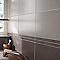 Carrelage mur gris clair 25 x 40 cm Bambou (vendu au carton)