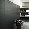 Carrelage mur noir 25 x 40 cm EXPORTCERAM Ardoise (vendu au carton)