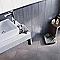 Carrelage mur gris 20 x 25 cm COLOURS Pastello (vendu au carton)