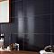 Carrelage mur anthracite 25 x 40 cm Rigato (vendu au carton)