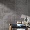 Carrelage mur taupe 25 x 40 cm COLOURS Cenento (vendu au carton)