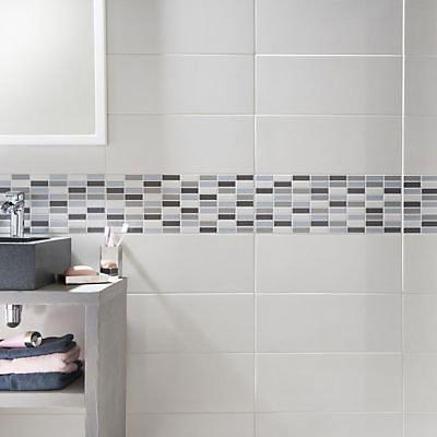 Carrelage Mur Blanc 20 X 50 Cm Melotti Castorama