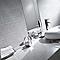 Carrelage mur décor gris 20 x 40 cm Enviro (vendu au carton)