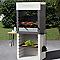 Barbecue en pierre reconstituée One hood avec hotte