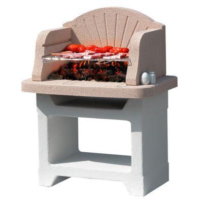 barbecue fixe b ton sunday palma castorama. Black Bedroom Furniture Sets. Home Design Ideas