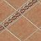 Carrelage sol et mur rouge 33 x 33 cm CASTORAMA Asiago (vendu au carton)