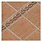 Angle de frise sol et mur rouge 11 x 11 cm EPOCA Asiago