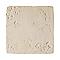 Carrelage sol et mur crème 45,5 x 45,5 cm Abbaye (vendu au carton)