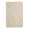 Carrelage sol et mur blanc 33 x 50 cm Abbaye (vendu au carton)