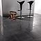 Carrelage sol poli noir 30 x 60 cm Qlife  (vendu au carton)