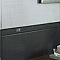 Listel noir 3 x 40 cm Moire
