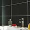Carrelage mur noir brillant 25 x 40 cm EPOCA Soony (vendu au carton)