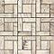 Mosaïque sol et mur décor chêne 30 x 30 cm Chalet (vendue à la pièce)