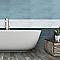 Carrelage mur bleu foncé 20 x 60 cm Devore (vendu au carton)