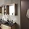 Carrelage mur gris effet pierre 20 x 60 cm EPOCA Amorosi lead (vendu au carton)
