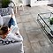 Carrelage sol et mur taupe 61,5 x 61,5 cm Aurora (vendu au carton)