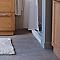 Carrelage sol et mur argent 15 x 90 cm Beton Up (vendu au carton)