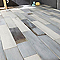 Carrelage sol et mur blanc 13,6 x 61,4 cm Lam Océan (vendu au carton)