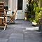 Carrelage terrasse anthracite 43 x 43 cm Tolda (vendu au carton)
