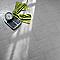 Carrelage sol et mur gris clair 31 x 61,8 cm Palmarola (vendu au carton)