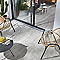 Carrelage terrasse gris 31 x 61,8 cm Tundra (vendu au carton)