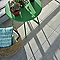 CARRELAGE TERRASSE GRIS 31 X 61,8 CM PATIO (vendu au carton)