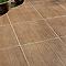 Carrelage terrasse effet bois 43 x 43 cm Todeck (vendu au carton)