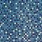 Mosaïque mur mix bleu 30 x 30 cm Akira