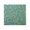 Mosaïque mur perle turquoise 30 x 30 cm Akira