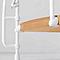 Escalier métal et bois Magia 70Xtra Ø150 cm 11 marches blanc/clair