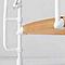Escalier métal et bois Magia 70Xtra Ø150 cm 15 marches blanc/clair