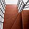 Escalier en L métal et bois Magia 90Xtra l.80 cm 10 marches gris Fonte/cerisier
