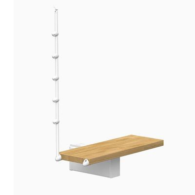 Marche supp escalier magia70xtra ø150cm blancchêne
