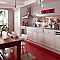 Carrelage sol et mur rouge 45 x 45 cm Antico (vendu au carton)