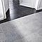 Carrelage sol et mur noir 45 x 45 cm Antico (vendu au carton)