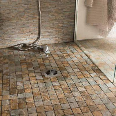 Mosaique sol et mur 29,80 x 29,80 cm Imitation ardoise   Castorama