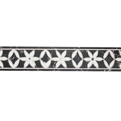 listel mural noir 5 x 25 cm tigli castorama. Black Bedroom Furniture Sets. Home Design Ideas