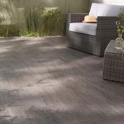 carrelage terrasse anthracite 20 x 120 cm bosko vendu au carton castorama. Black Bedroom Furniture Sets. Home Design Ideas