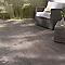Carrelage terrasse anthracite 20 x 120 cm Bosko (vendu au carton)