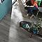 Carrelage sol bois gris 16 x 100 cm COLOURS Sansio (vendu au carton)