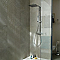 Carrelage sol et mur gris effet pierre 30 x 60 cm Pioggia