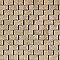 Carrelage sol et mur beige clair effet pierre 30 x 60 cm Pioggia