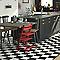 Carrelage sol et mur noir 20 x 20 cm Pikoli 2 (vendu au carton)