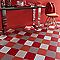 Carrelage sol et mur rouge 20 x 20 cm Pikoli 2